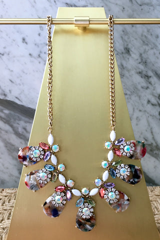 Whitney Necklace in Multi
