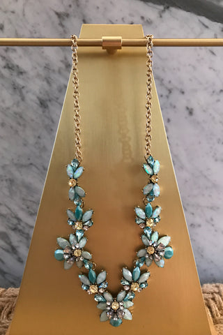 Chantal Necklace in Blue