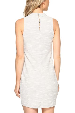 Jack by BB Dakota Ghostly Shadow Dress in Grey