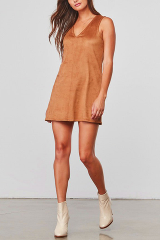 Jack by BB Dakota Jamie Dress in Camel