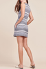 Jack By BB Dakota Essie Shift Dress in Blue