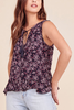 Jack by BB Dakota Wren Top in Navy