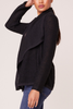 Jack by BB Dakota Wherever I Go Cardi in Black