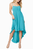 Jack by BB Dakota Maggie Dress in Turquoise
