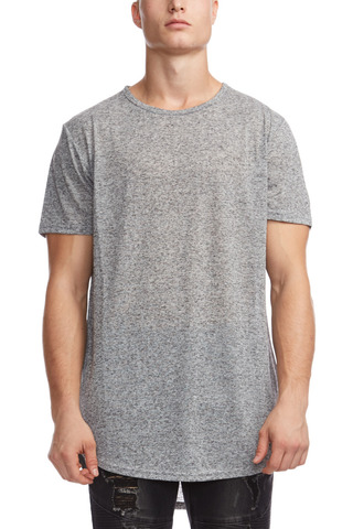 Kuwalla Night Long Tee in Grey