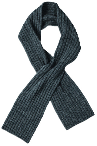 Ebbets Scarf in Coal