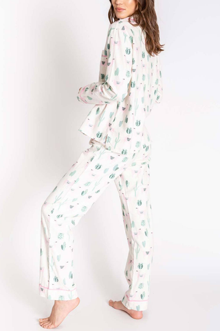 P.J. Salvage Oasis Dreams Pajamas in Pink
