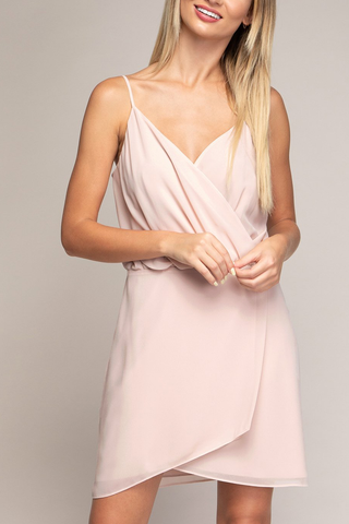 Jourdan Dress in Blush