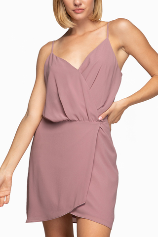 Jourdan Dress in Mauve