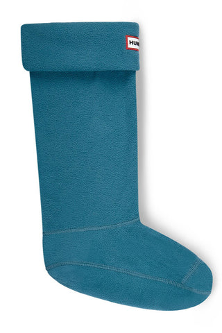 Hunter Polar Fleece Boot Socks in Bright Peacock