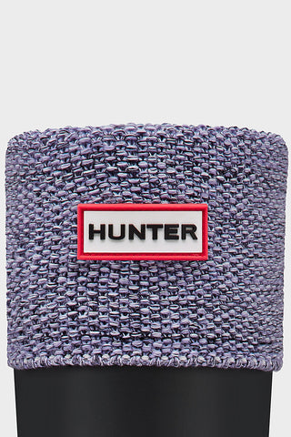 Hunter Mouline Knit Boot Socks in Bright Lilac