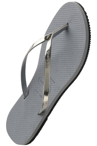 Havaianas You Metallic in Steel Grey
