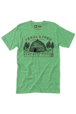 Feral Tee in Grass