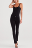 7 For All Mankind Kimmie Straight Leg in Black