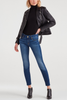 7 For All Mankind Emmie Ankle Skinny in Glacier