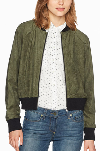 BB Dakota Cantina Bomber in Olive