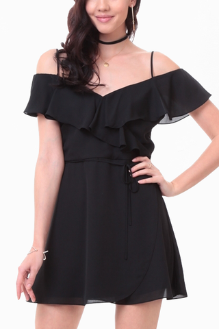 True Perfection Dress in Black