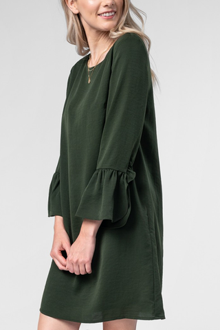 Marie Dress in Olive