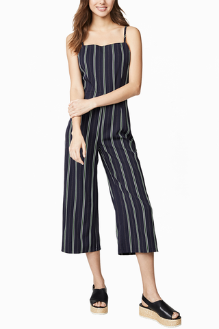 Cupcakes and Cashmere Connie Jumpsuit in Navy