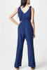 Cupcakes and Cashmere Adelaide Jumpsuit in Navy