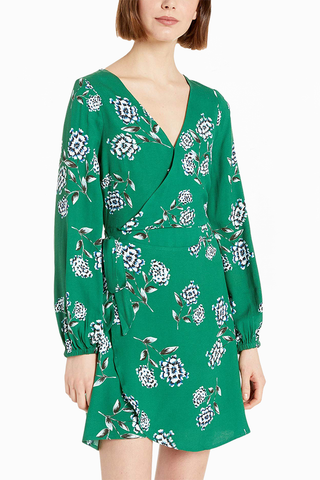 Cupcakes and Cashmere Brigitte Dress in Emerald