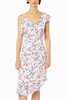 Cupcakes and Cashmere Frida Floral Dress in White