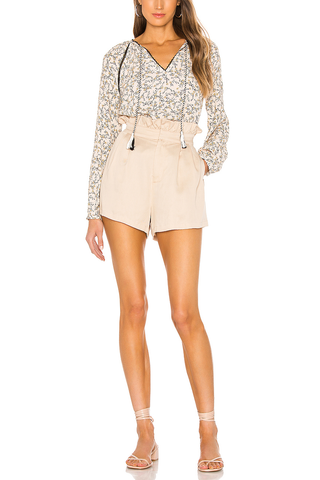 Cupcake and Cashmere Charlottetown Shorts in Biege