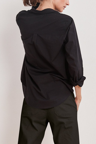 Velvet Amari Shirt in Black