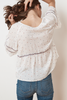 Velvet Daisy Chain Top in White