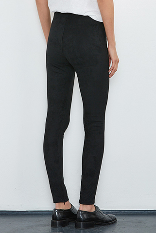 Velvet Stevie Leggings in Suede