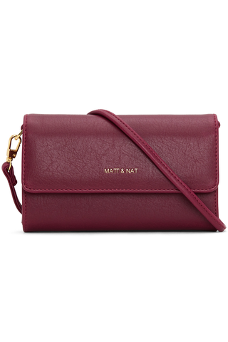 Matt & Nat Drew Mini Bag in Garnet