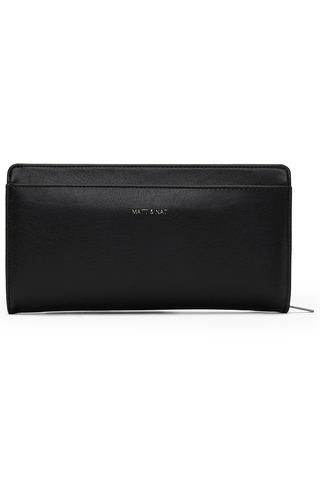 Matt & Nat Webber Wallet in Black