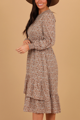 One & Only Dress in Latte