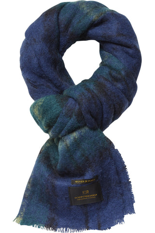 Scotch & Soda Everything's Alright Scarf in Sea