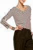 Maison Scotch Soft Serve Sweater in Stripe
