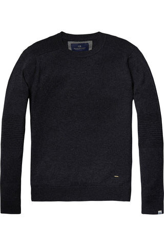 Scotch & Soda Long Time Sweater in Slate