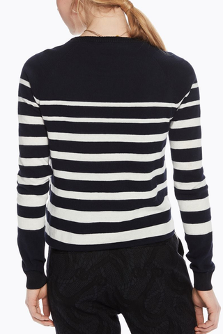 Maison Scotch World Wonder Knit in Navy