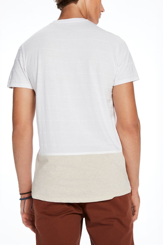 Scotch & Soda Going Down Tee in White
