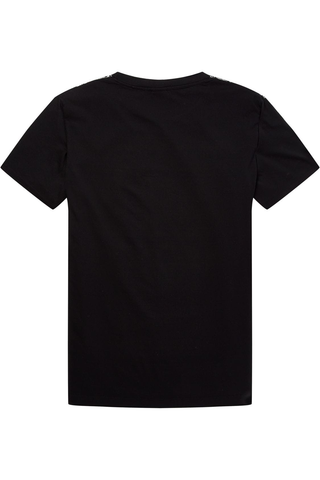 Scotch and Soda Daryll Tee in Black