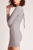 Jack by BB Dakota Orla Sweater Dress in Grey