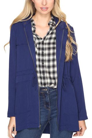 Jack by BB Dakota Hope & Dream Jacket in Navy