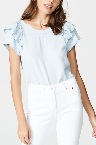 Jack by BB Dakota Atlanta Top in Denim