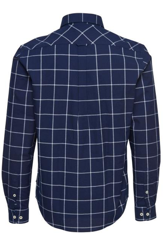 Matinique Kevin L/S Shirt in Navy