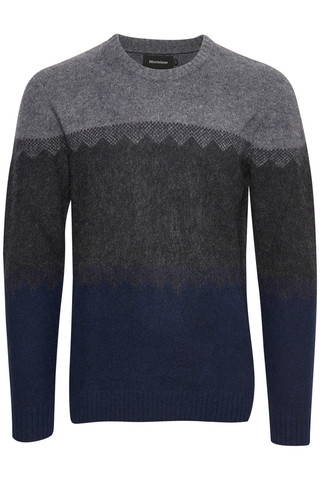 Matinique Strike Out Sweater in Multi