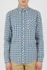 Ben Sherman Columbus L/S Shirt in Blue
