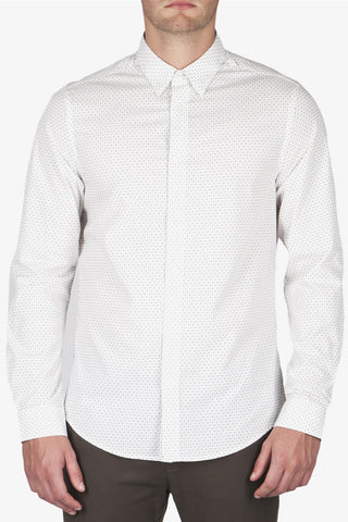 Ben Sherman Under Current L/S Shirt in White