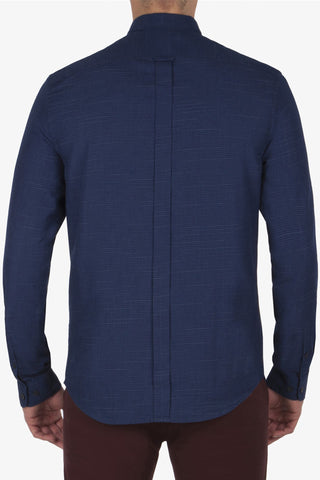 Ben Sherman Birch & Moss L/S Shirt in Navy
