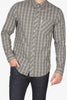 Ben Sherman Good Times L/S Shirt in Grey