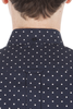 Ben Sherman Scotch Neat L/S Shirt in Navy
