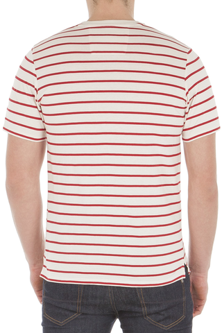 Ben Sherman Northern Rye Tee in Cream